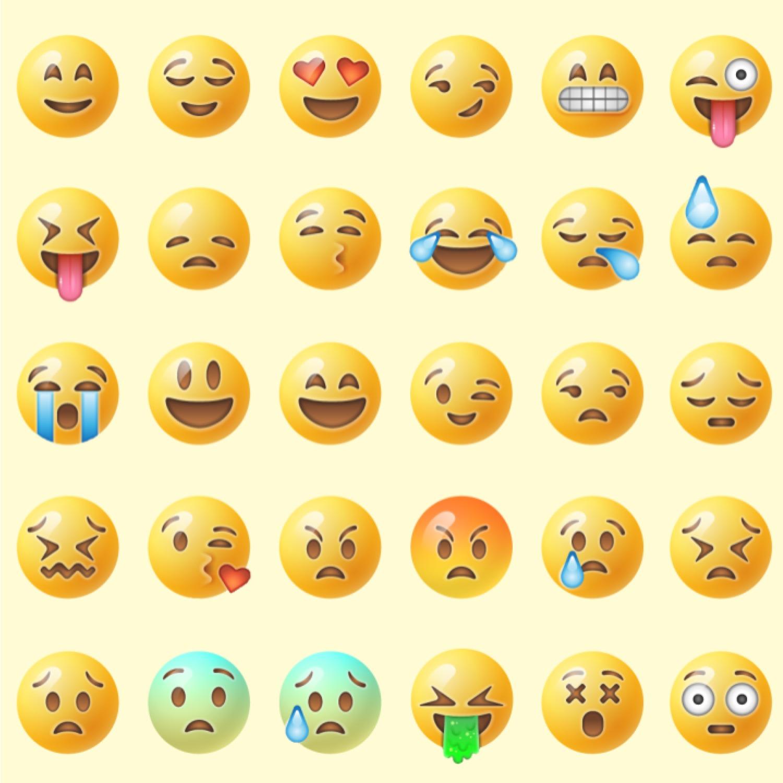 Emojis Wallpaper Square
