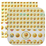 Emojis Facecloth / Wash Cloth (Personalized)