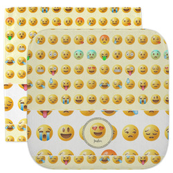 Emojis Facecloth / Wash Cloth (Personalized)