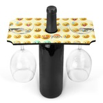 Emojis Wine Bottle & Glass Holder (Personalized)