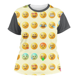 Emojis Women's Crew T-Shirt (Personalized)