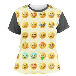 Emojis Women's Crew T-Shirt (Personalized)