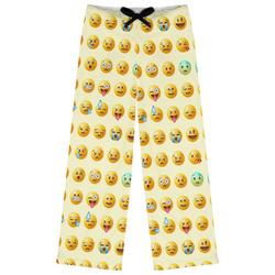 Emojis Womens Pajama Pants (Personalized)