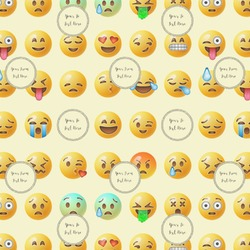 Emojis Wrapping Paper (Personalized)