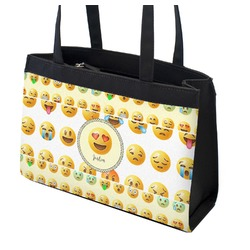 Emojis Zippered Everyday Tote (Personalized)