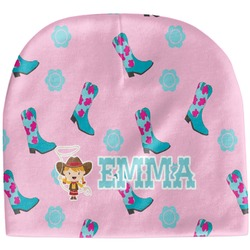 Cowgirl Baby Hat (Beanie) (Personalized)