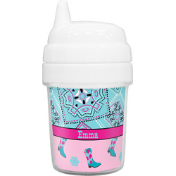 Cowgirl Baby Sippy Cup (Personalized)