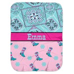 Cowgirl Baby Swaddling Blanket (Personalized)