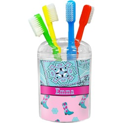 Cowgirl Toothbrush Holder (Personalized)