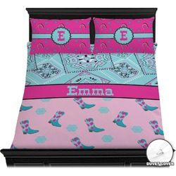 Cowgirl Duvet Cover Set (Personalized)