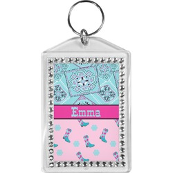 Cowgirl Bling Keychain (Personalized)
