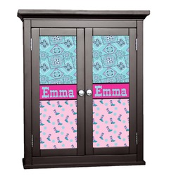 Cowgirl Cabinet Decal - Custom Size (Personalized)