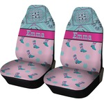 Cowgirl Car Seat Covers (Set of Two) (Personalized)