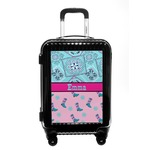 Cowgirl Carry On Hard Shell Suitcase (Personalized)