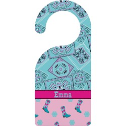 Cowgirl Door Hanger (Personalized)