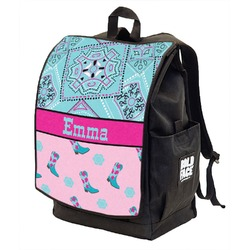 Cowgirl Backpack w/ Front Flap  (Personalized)