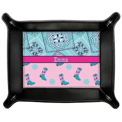 Cowgirl Genuine Leather Valet Tray (Personalized)