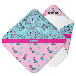 Cowgirl Hooded Baby Towel (Personalized)