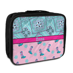 Cowgirl Insulated Lunch Bag (Personalized)