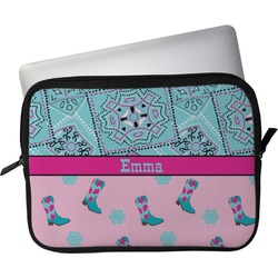 """Cowgirl Laptop Sleeve / Case - 15"""" (Personalized)"""