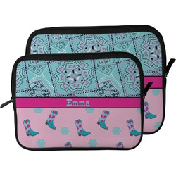 Cowgirl Laptop Sleeve / Case (Personalized)