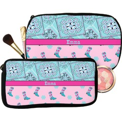 Cowgirl Makeup / Cosmetic Bag (Personalized)