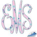 Cowgirl Monogram Iron On Transfer (Personalized)