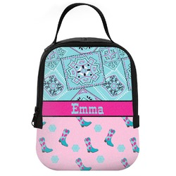 Cowgirl Neoprene Lunch Tote (Personalized)