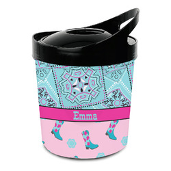 Cowgirl Plastic Ice Bucket (Personalized)