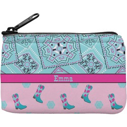 Cowgirl Rectangular Coin Purse (Personalized)