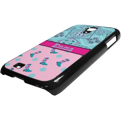 Cowgirl Plastic Samsung Galaxy 4 Phone Case (Personalized)