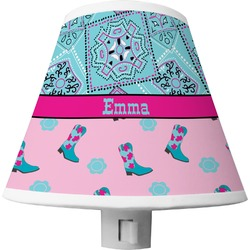 Cowgirl Shade Night Light (Personalized)