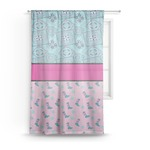 Cowgirl Sheer Curtains (Personalized)