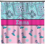 Cowgirl Shower Curtain (Personalized)