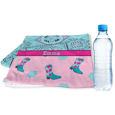 Cowgirl Sports & Fitness Towel (Personalized)