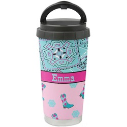 Cowgirl Stainless Steel Travel Mug (Personalized)