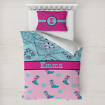 Cowgirl Toddler Bedding w/ Name or Text