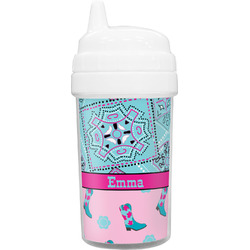 Cowgirl Toddler Sippy Cup (Personalized)