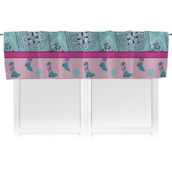 Cowgirl Valance (Personalized)