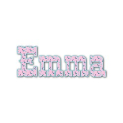 Cowgirl Name/Text Decal - Custom Sizes (Personalized)