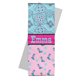 Cowgirl Yoga Mat Towel (Personalized)