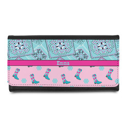 Cowgirl Leatherette Ladies Wallet (Personalized)