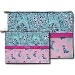 Cowgirl Zipper Pouch (Personalized)