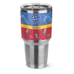 Cowboy Stainless Steel Tumbler - 30 oz (Personalized)