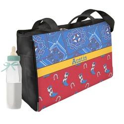 Cowboy Diaper Bag (Personalized)