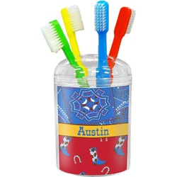 Cowboy Toothbrush Holder (Personalized)