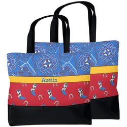 Cowboy Beach Tote Bag (Personalized)