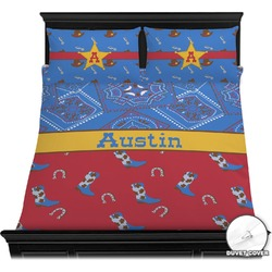Cowboy Duvet Cover Set (Personalized)
