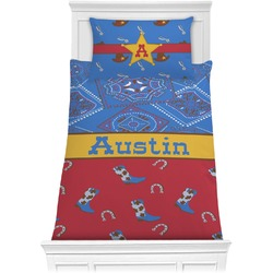Cowboy Comforter Set - Twin (Personalized)