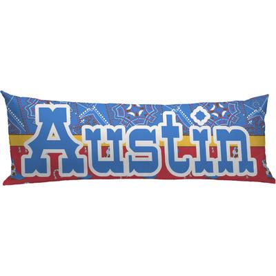 Cowboy Body Pillow Case (Personalized)
